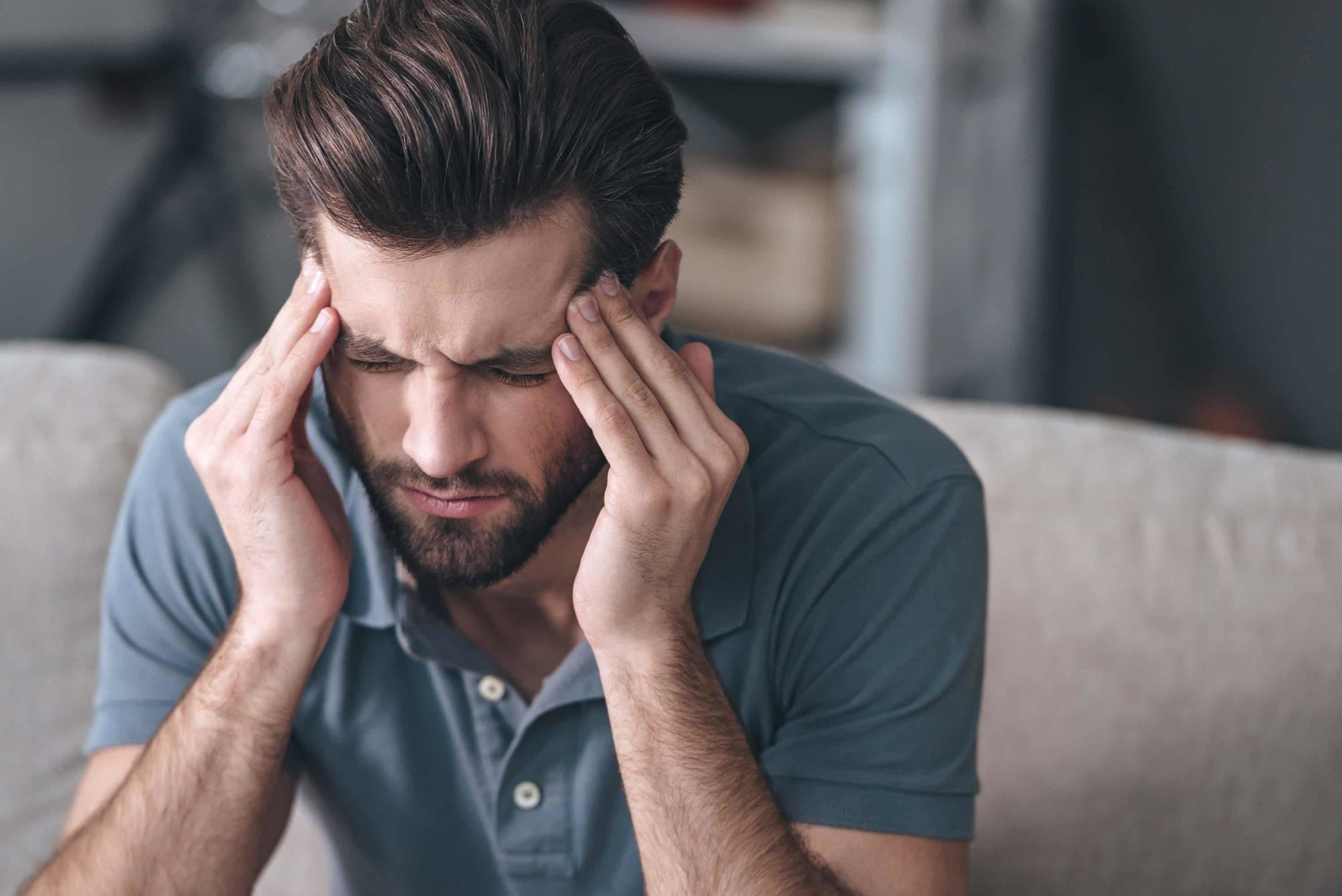 Self help massage tips for dealing with headaches