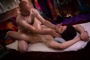 What happens in a gay massage session